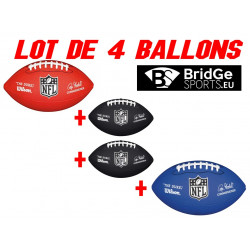 WILSON NFL MINI REPLICA LOT DE 4