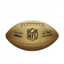 WILSON NFL DUKE METTALIC EDITION - GOLD