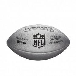 WILSON NFL DUKE METTALIC EDITION - SILVER