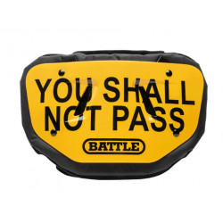 BATTLE BACK PLATE YOU SHALL NOT PASS