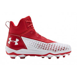 UNDER ARMOUR HAMMER Mid Moulées Rouge