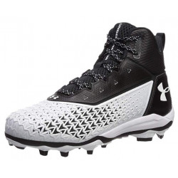 UNDER ARMOUR HAMMER Mid Moulées Noir Blanche