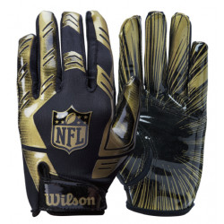 WILSON NFL STRETCH FIT Black/Gold