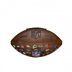 WILSON NFL 32 TEAMS LOGO