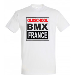 Tee shirts MANCHES COURTES OLDSCHOOL BMX FRANCE