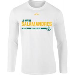 Tee shirt manches longues FOOTBALL SALAMANDRES du Havre