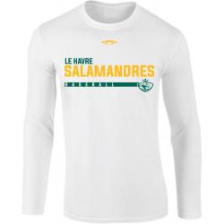 Tee shirt manches longues BASEBALL SALAMANDRES du Havre