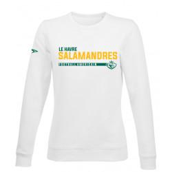 Sweat Femme sans capuche FOOTBALL SALAMANDRES du Havre