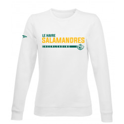 Sweat sans capuche CHEERLEADING  SALAMANDRES du Havre