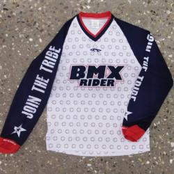 Maillot BMX RIDER Wenro Navy Adulte