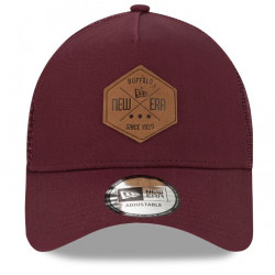 NEW ERA HERITAGE PATCH 9FORTY AF TRUCKER Maroon (bordeaux)